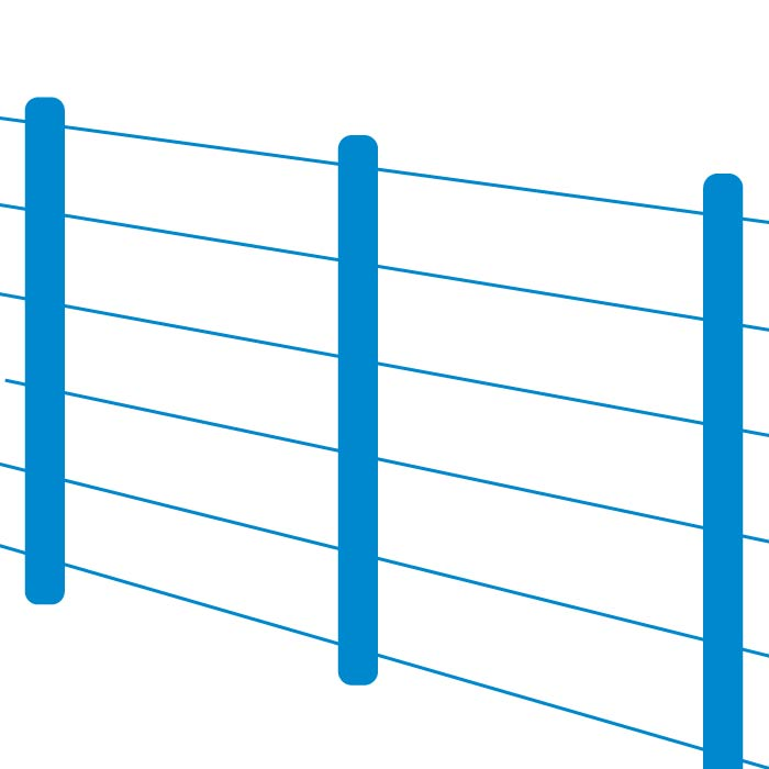Plain Wire Fencing