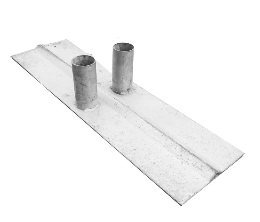 Metal Feet for Crowd Control Barriers