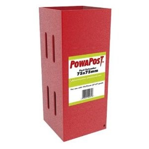 Post Extenders for 100mm Square Fence Posts