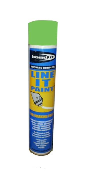 Bond It Line It Linemarking Spray Paint - Green 750ml