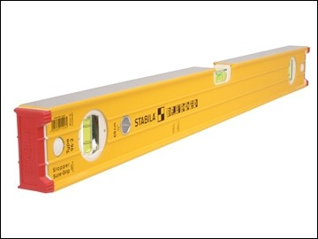 "Heavy Duty Stabila Spirit Level 96"" 3 Vials"