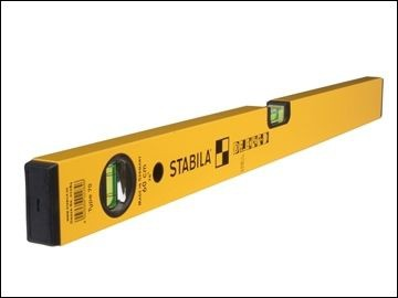 "Light Duty Stabila Spirit Level 24"" 2 Vials"