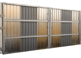 Ultimate Steel Wall - Hoarding Fencing