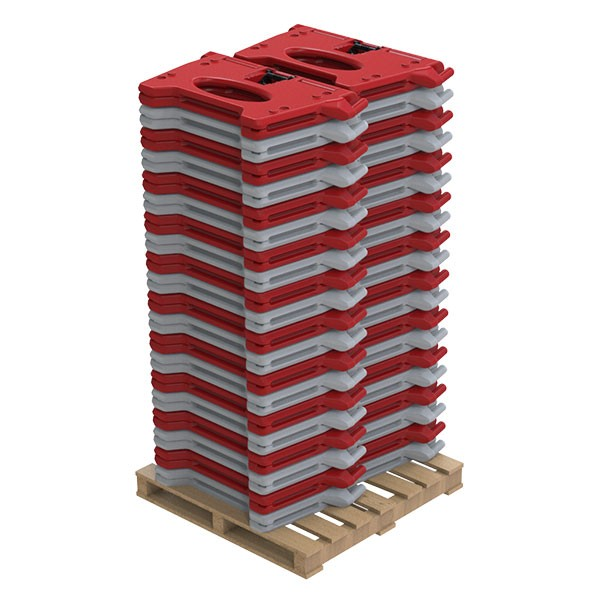 Alphabloc Barriers - Pallet