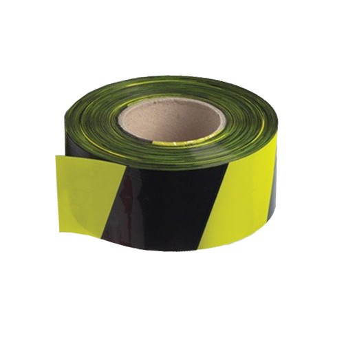 Black / Yellow Barrier Tape Professional