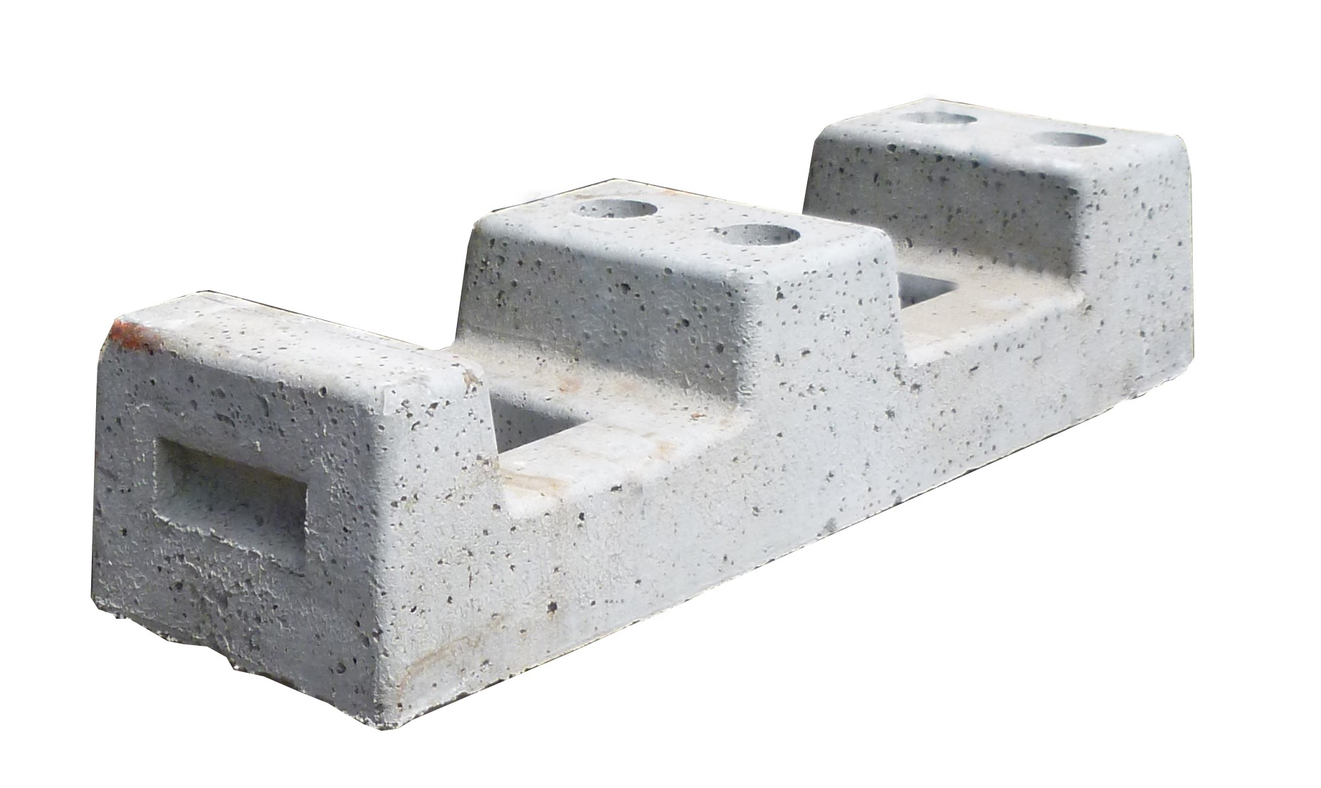Concrete Foot for Temporary Fencing