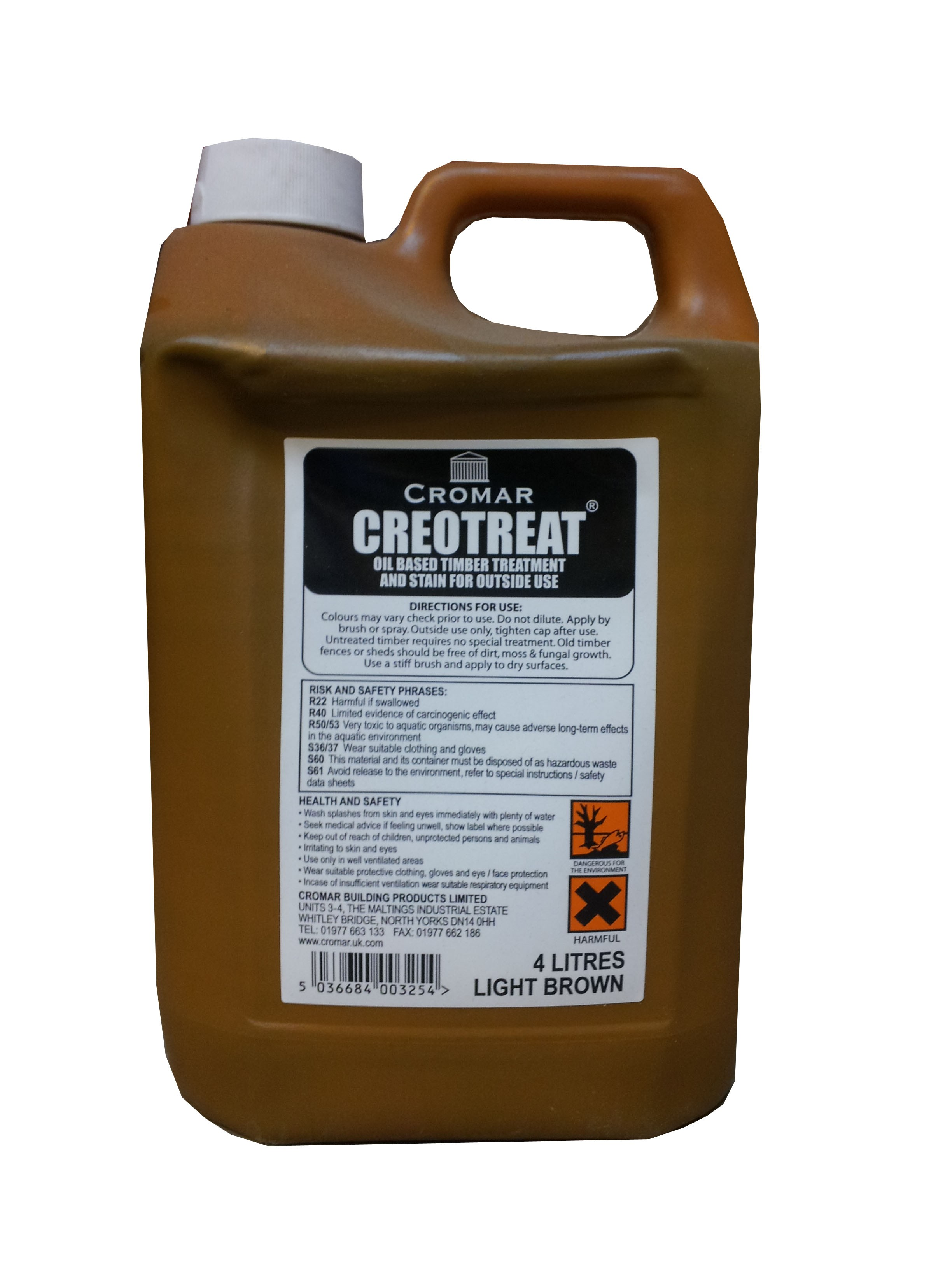 Cromar Creotreat Light Brown 4 Litres