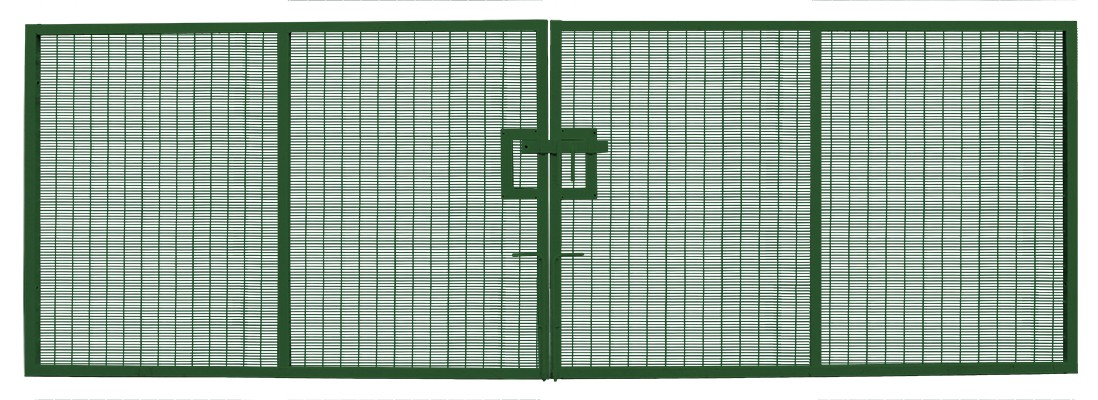 Prison Mesh Double Leaf Gate