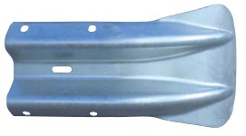 Fishtail End Section For Armco Crash Barriers