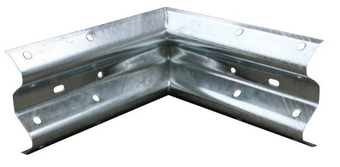 90 Degree Internal Corner for Armco Crash Barriers