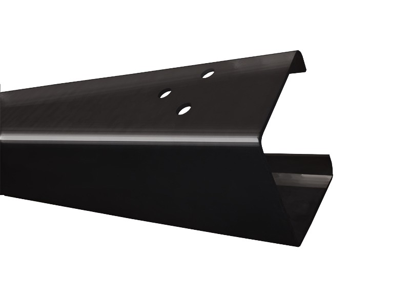 Black Open Box Beam 4.8m