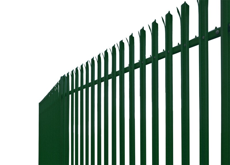 1.8m High Powder Coated Palisade Fencing