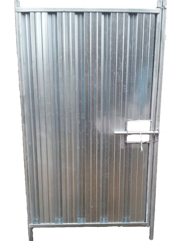 2.4m High Stand Alone Pedestrian Hoarding Gate