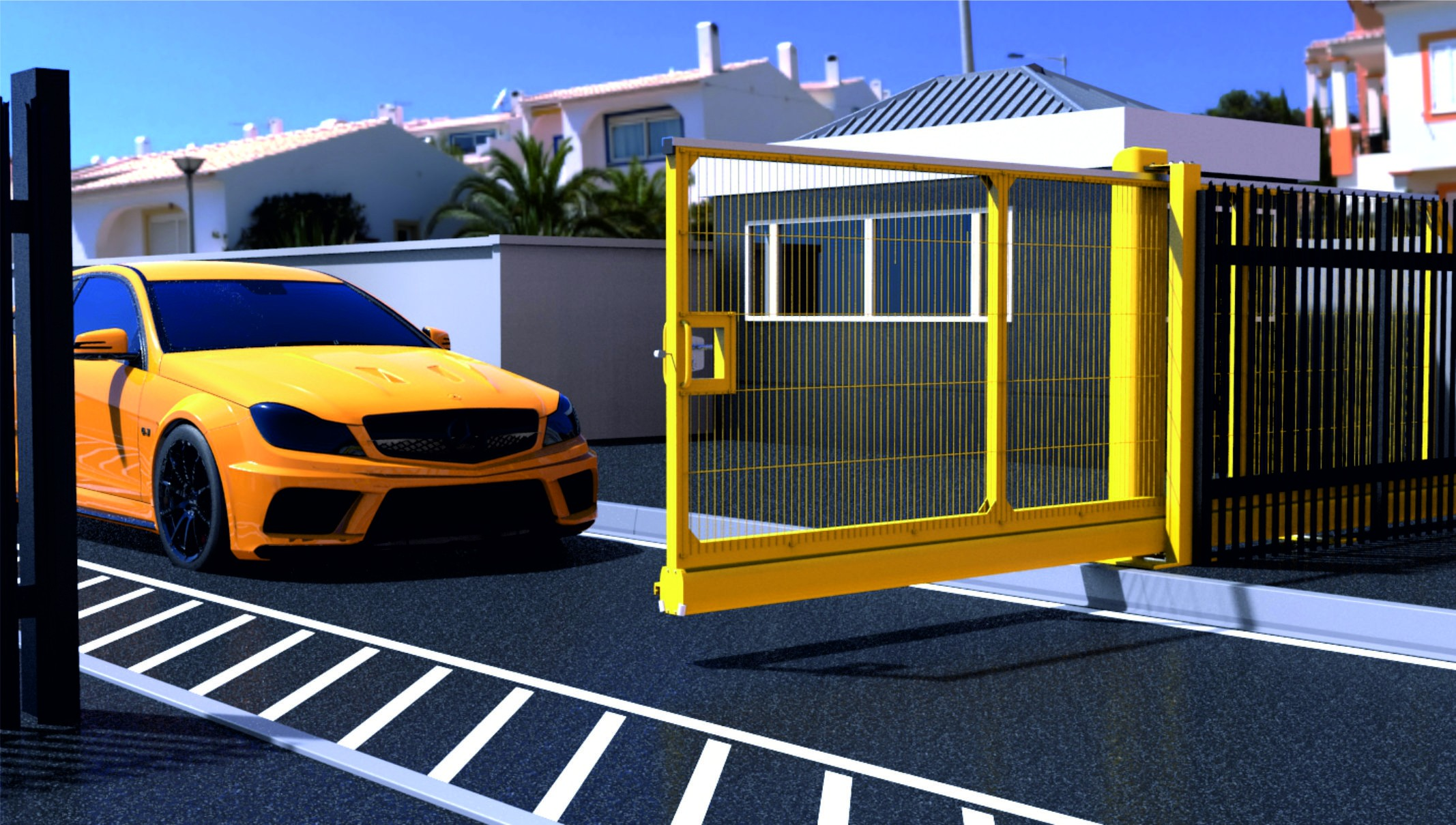FF9100 Lightweight Manual Sliding Gate