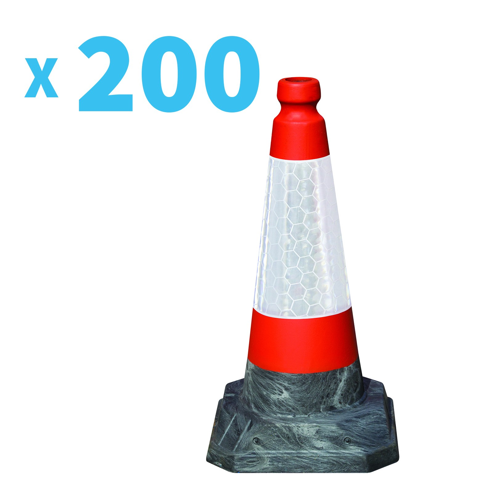 Road Hog 500mm High Road Cone - Pallet of 200