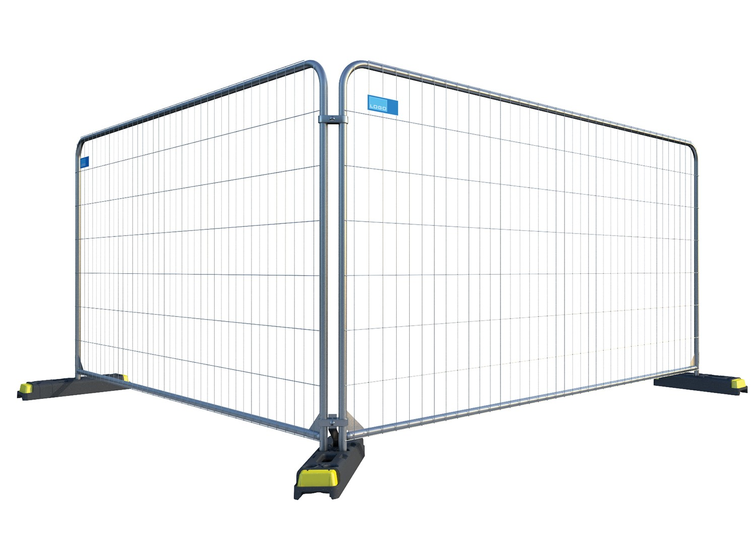 Heavy Duty Round Top Temporary Fencing Panel