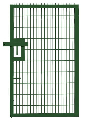 Twin Mesh Single Leaf  Pedestrian Gate