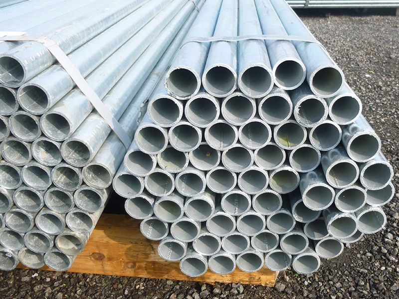 Pack of 61 - 21ft Standard Steel Scaffolding Tubes
