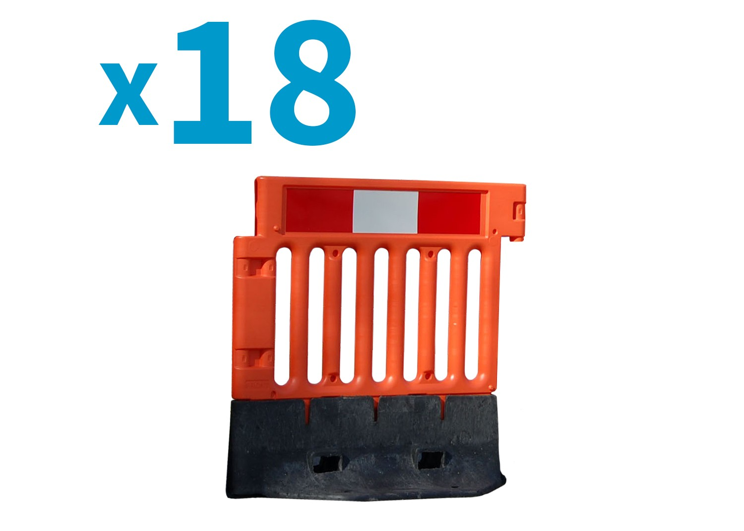 StrongWall Barrier - Pallet of 18
