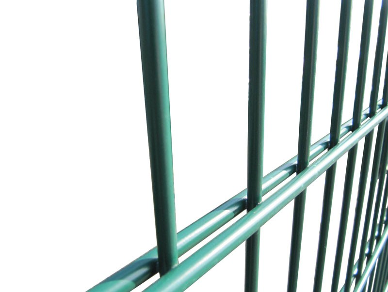 1.8m High 656 Twin Wire Mesh Security Fencing