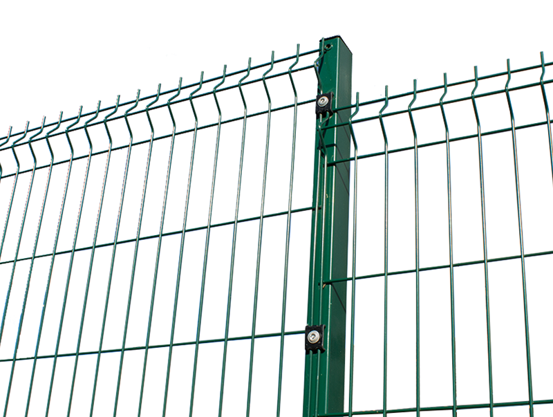 2.4m High 'V' Mesh Security Fencing