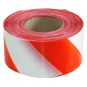 Red / White Non-Adhesive Barrier Tape Professional 500 Metres