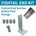Fishtail End kit for Armco Crash Barriers
