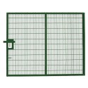 Twin Mesh Single Leaf Gate - 2.4m high x 4.0m wide
