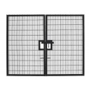 Twin Mesh Double Leaf Gate - 2.4m high x 6.0m wide
