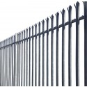 2.1m High 'W' Section Palisade Security Fencing