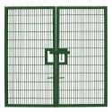 Twin Mesh Double Leaf Gate - 2.4m high x 4.0m wide