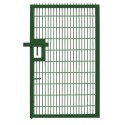 Twin Mesh Single Leaf Gate - 2.0m high x 2.0m wide