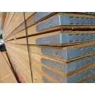 A pack of 100 13ft timber Scaffolding Boards.