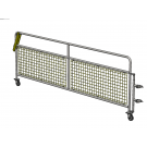 8ft Met Barrier Gate