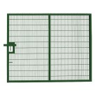 Large Twin Mesh Single Leaf Gate Green