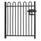 1.0m wide Standard Bow Top Pedestrian Railing Gate
