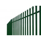 2.1m High Powder Coated Palisade Fencing