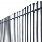 2.0m High 'W' Section Palisade Security Fencing