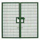 Twin Mesh Double Leaf Gate