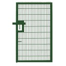 Small Twin Mesh Pedestrian Gate Green
