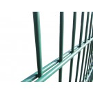 2.4m High 656 Twin Wire Mesh Security Fencing
