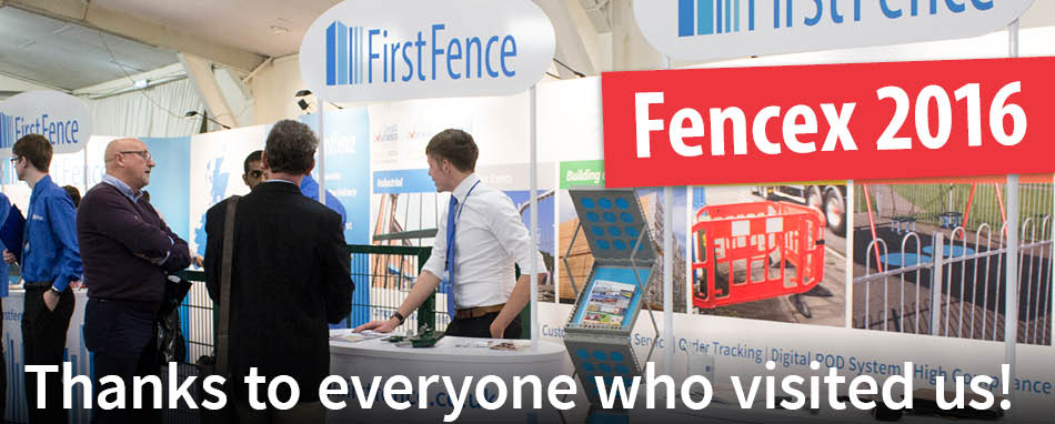 Thank you for visiting us at Fencex 2016