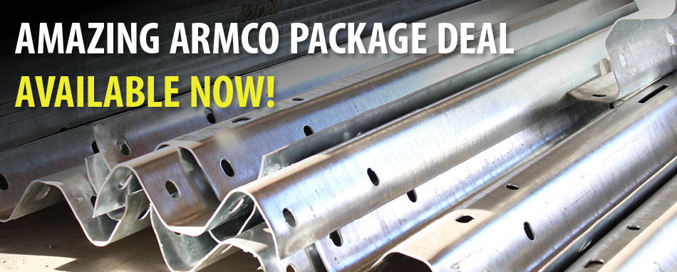 Amazing Armco Package Deal - Free Fishtails End Sections