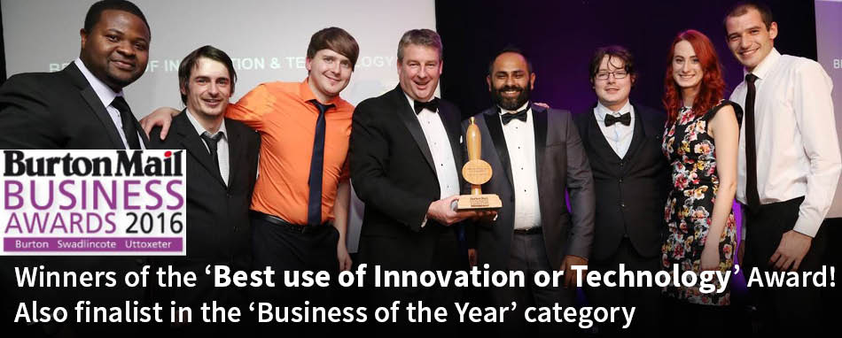 Winners of the 'Best Use of Technology and Innovation' Award