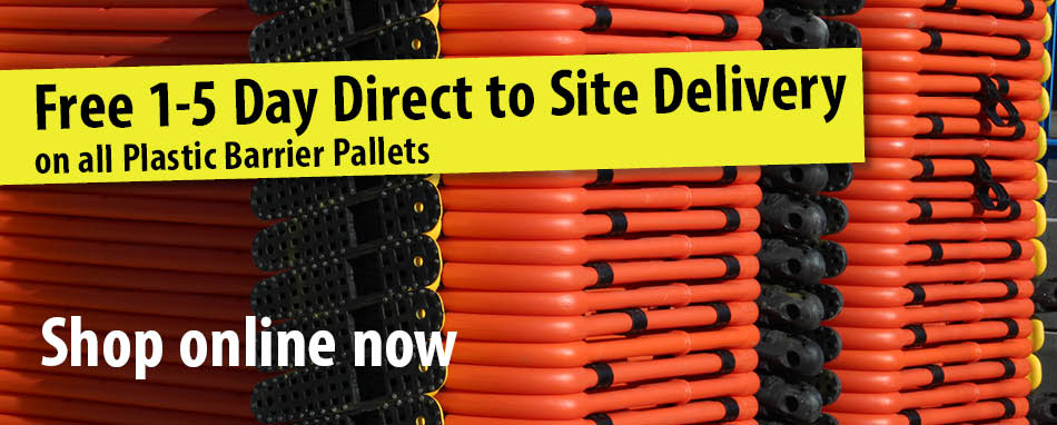 Free Direct to Site Delivery on Plastics Pallets