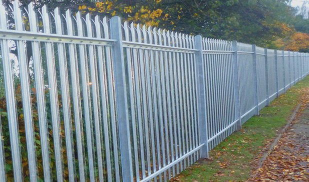 Permanent Security Fencing | Palisade | Mesh | Railings