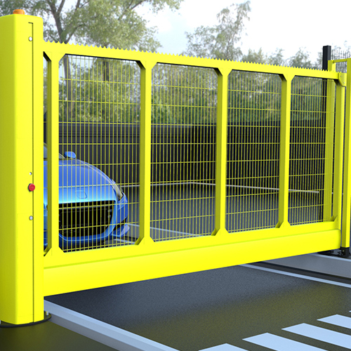 Manual Sliding Gates - Security Fencing