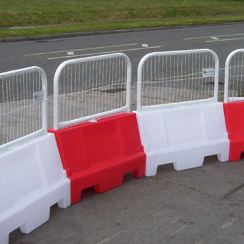 Water Filled Barriers